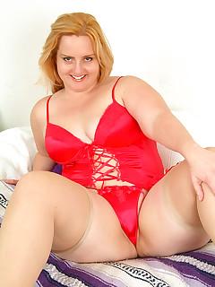 BBW Nylon Porn Pics