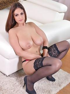 Solo Nylon Porn Pics