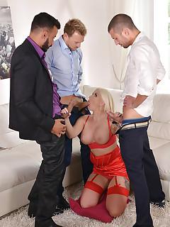 Group Nylon Porn Pics