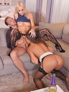 Gangbang Nylon Porn Pics