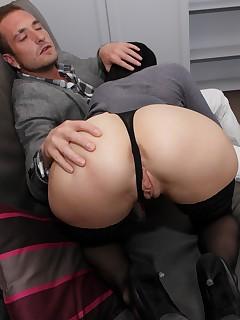Nylon ass porn