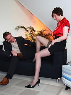 Lara Stockings Nylon Porn Pics